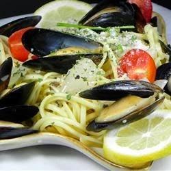 Pasta – Mussels Mariniere