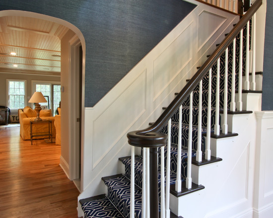 Classic Coastal Colonial Foyer (Newark)